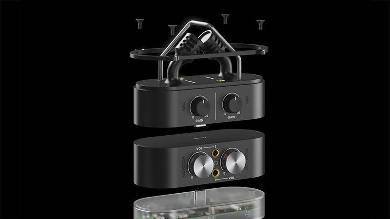 IO Portable Audio Recorder